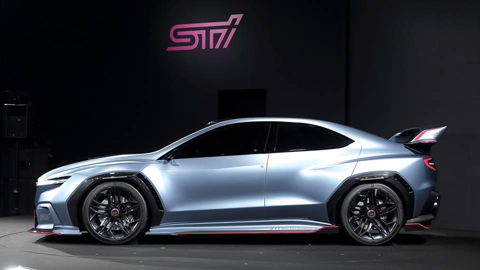 Мировая премьера Subaru VIZIV Performance STI Concept в Токио