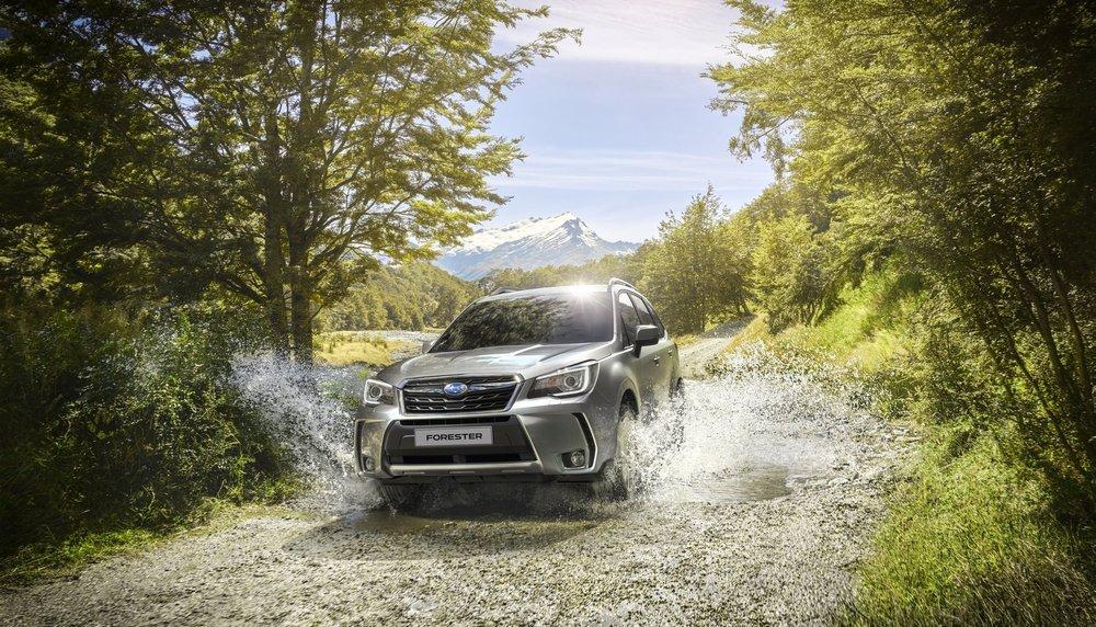 Старт продаж обновленного Subaru Forester 2018